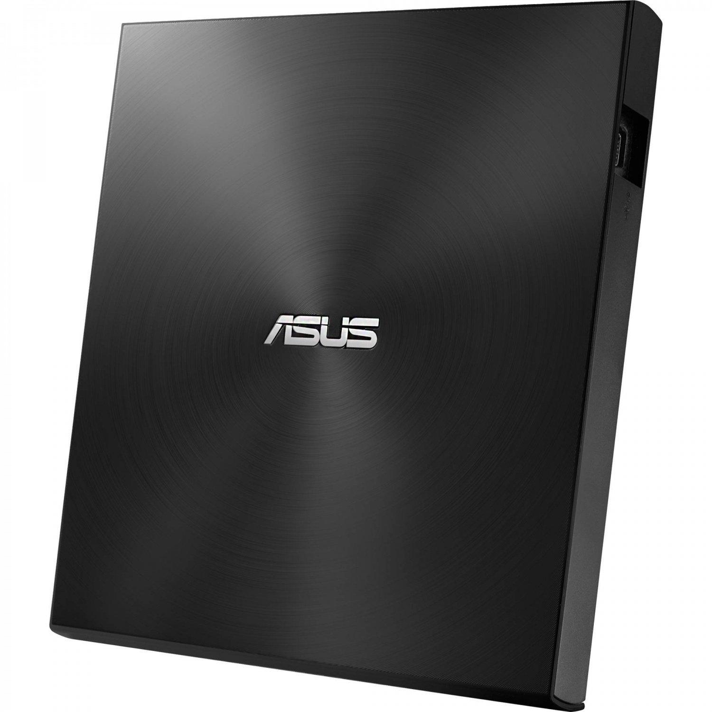 Зовнішній оптичний привід ASUS DVD ± R/RW USB 2.0 ZenDrive U7M (SDRW-08U7M-U/BLK/G/AS) Black фото1
