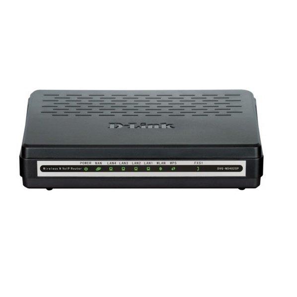 d-link VoIP-Шлюз D-Link DVG-N5402SP/1S 802.11n, 1xFXS, 4xFE LAN, 1xFE WAN (DVG-N5402SP/1S)