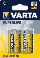 Батарейка VARTA SUPERLIFE C BLI 2 ZINC-CARBON