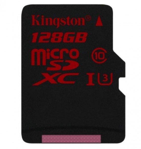 Купить Карта памяти Kingston microSDXC 128GB Class 10 UHS-I U3 R90/W80MB/s 4K