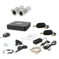 Комплект видеонаблюдения Tecsar AHD 2OUT + HDD 1TB