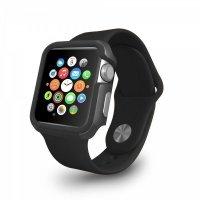 Чехол-бампер Ozaki O!coat для Apple Watch 38cm-Shockband Case Black