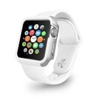 Чехол-бампер Ozaki O!coat для Apple Watch 38cm-Shockband Case White