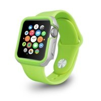 Чехол-бампер Ozaki O!coat для Apple Watch 42cm-Shockband Green