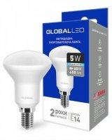 Светодиодная лампа GLOBAL R50 5W яркий свет 220V E14 (1-GBL-154)