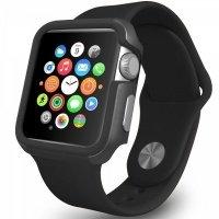 Чехол-бампер Ozaki O!coat для Apple Watch 42cm-Shockband Black