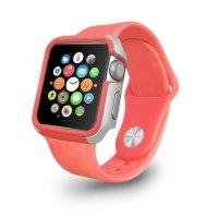 Чехол-бампер Ozaki O!coat для Apple Watch 38cm-Shockband Case Pink