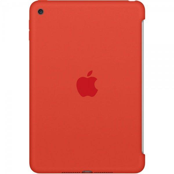 Чехол Apple Silicone Case для iPad mini 4 Orange (MLD42ZM/A)  - купить со скидкой
