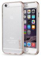 Бампер Laut для iPhone 6 Plus/6s Plus EXO-FRAME Aluminium Rose gold