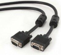 Кабель VGA Cablexpert M/M, двойное экранир., с 2-мя ферит, черный, 30м (0503220)