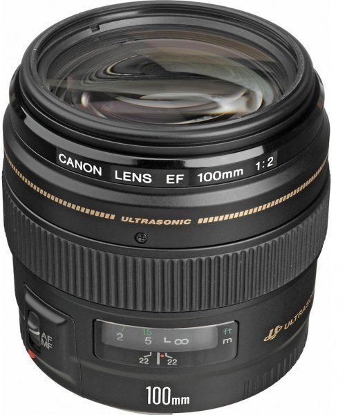 Купить Объективы, Объектив Canon EF 100 mm f/2.0 USM (2518A012)
