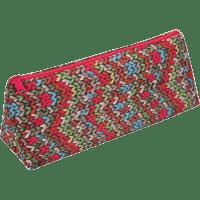 Пенал ZiBi трикутний 19 x 6,5 x 4,5 см, текстильний, бежева в'язка (ZB16.0472)