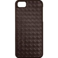 Чехол Macally для iPhone 5/5S/SE Woven Snap-On Case Brown