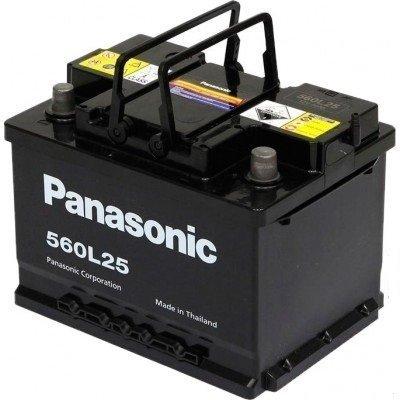 Аккумулятор автомобильный Panasonic N-560L25 фото