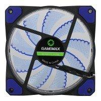 Вентилятор для корпуса GAMEMAX 120 мм синя підсвітка (GMX-GF12B)
