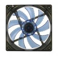 Вентилятор для корпусу GAMEMAX 120 мм синє підсвічування (GMX-WF12B)
