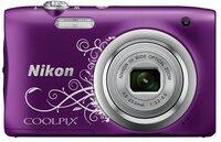Фотоаппарат NIKON Coolpix A100 Purple Lineart (VNA974E1)