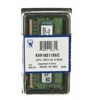 Пам'ять для ноутбука Kingston DDR3 1600 2GB 1,5V (KVR16S11S6/2)