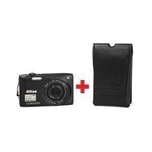 ≡ Фотоапарат NIKON Coolpix S3300 Black Promo Kit (VMA951KR01 ... 5773a0f25cdb6