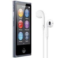 MP3-плеєр APPLE iPod nano 16GB Slate (7Gen) - 2012