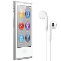 MP3-плеєр APPLE iPod nano 16GB Silver (7Gen) - 2012