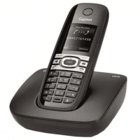 Телефон DECT Gigaset C610 Black