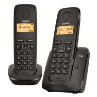 Телефон Dect Gigaset A120 DUO Black