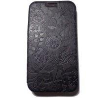 Чехол Gissar для Galaxy Note 2 N7100 Flora Black
