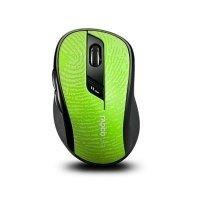 Мышь RAPOO 7100р wireless, зеленая (ЦОФ00012244)