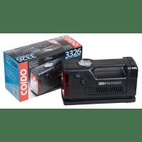 Автокомпрессор COIDO 3326 (300psi), манометр/фонарь