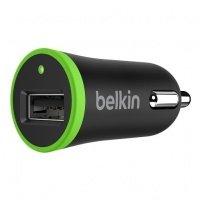 ЗП авто МС Belkin USB MicroCharger (12V, USB 1Amp), Чорний