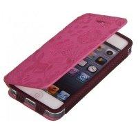 Чехол к iPhone 5 Gissar Flora для iPhone 5 pink