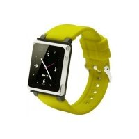 Чехол к iPod iWatchZ Ремень Q2-collection soft-touch silicone для Nano 6 yellow