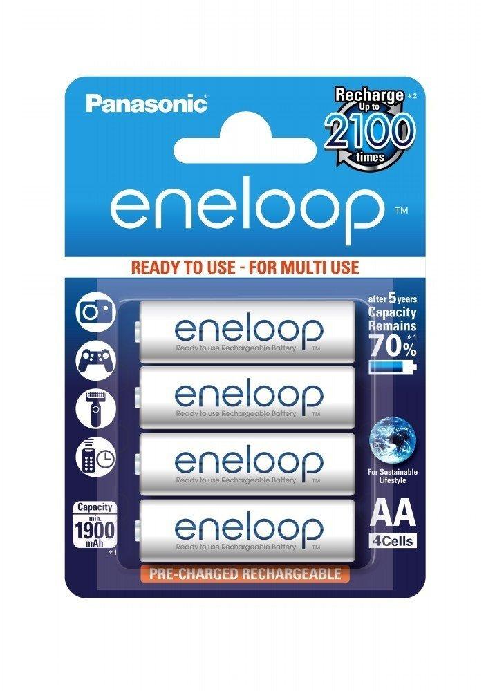Аккумулятор Panasonic Eneloop AA 1900 mAh 4BP фото