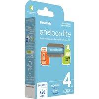 Аккумулятор Panasonic Eneloop Lite AAA 550 mAh 4BP