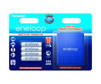 Аккумулятор Panasonic Eneloop AAA 750 mAh 4BP + case