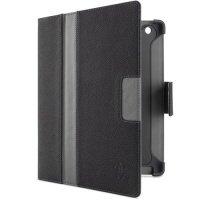 Чехол iPad 4Gen Belkin Folio Cinema Stripe PE/ PU (Indigo) (F8N753cwC01)