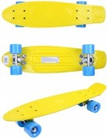 Скейтборд GO Travel желто-голубой (LS-P2206YBS)