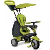 Детский велосипед Smart Trike GLOW 4в1 зеленый (6600800)