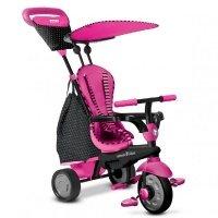 Детский велосипед Smart Trike GLOW 4в1 розовый (6402200)