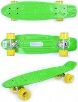 Скейтборд GO Travel зелено-желтый (LS-P2206GYT)