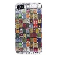 Чехол ODOYO G.O.D. iPhone 4/4s Metal Letterboxes (PH390ML)
