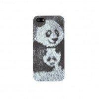 Чехол ODOYO для iPhone 5/5S/SE WILD ANIMALPanda