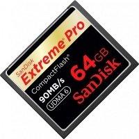 Карта памяти SANDISK CF 64GB Extreme Pro R90 MB/s (SDCFXP-064G-X46)