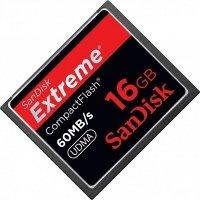 Карта памяти SANDISK CF 16GB Extreme R60 MB/s (SDCFX-016G-X46)