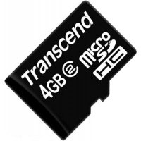 Карта памяти Transcend microSDHC 4GB Class 2