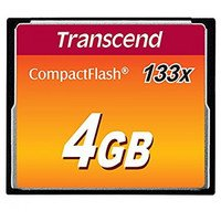 Карта памяти TRANSCEND CF 4GB 133X R50/W20 MB/s (TS4GCF133)