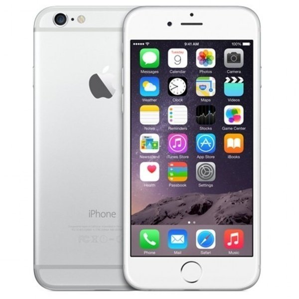 Смартфон Apple iPhone 6 16 GB CPO Silver фото 1