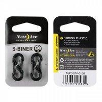 Набор карабинов Nite Ize Plastic Carb Black SБП2 NI785