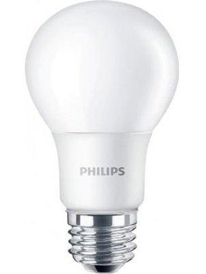 Лампа светодиодная Philips LEDBulb E27 6-50W 230V 3000K A60/PF (929001162007) фото 1